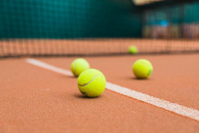 Palline da tennis per allenamento