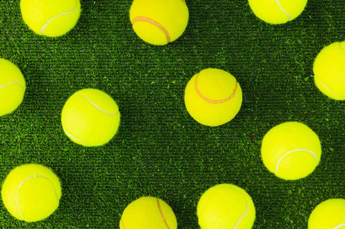 palline da tennis per erba sintetica