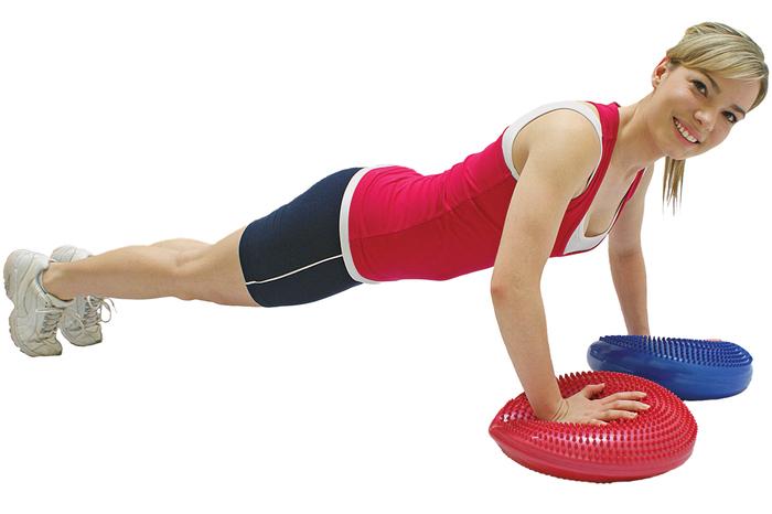 esercizi cuscino propriocettivo
