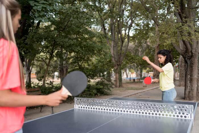 tavolo ping pong esterno