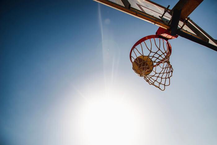 Canestro da basket esterno